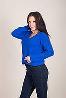 Жіночий светр з V-подібним вирізом Туреччина, фото 6