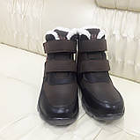 Ботинки кроссовки зимние подростковые размеры 35 для мальчика, фото 3