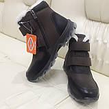 Ботинки кроссовки зимние подростковые размеры 35 для мальчика, фото 5