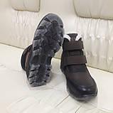 Ботинки кроссовки зимние подростковые размеры 35 для мальчика, фото 7