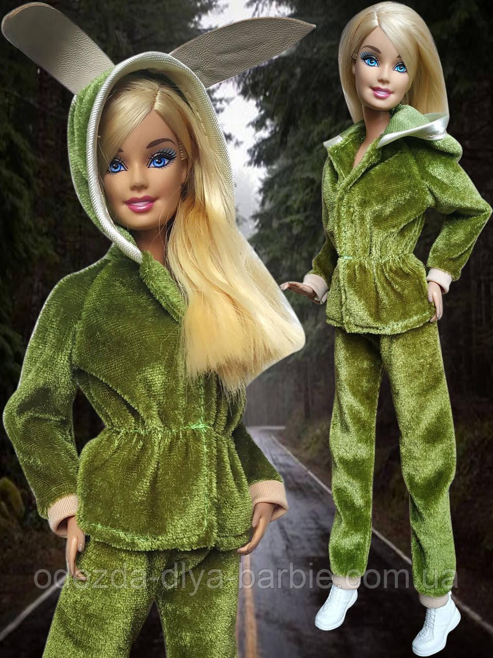Одежда для кукол Барби - спортивный костюм