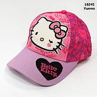 Кепка Hello Kitty для девочки. 50-54 см, фото 1
