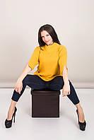 Удлиненный женский свитер с отложным воротником Турция, фото 2