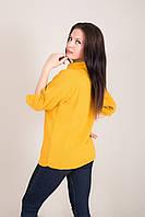 Удлиненный женский свитер с отложным воротником Турция, фото 5