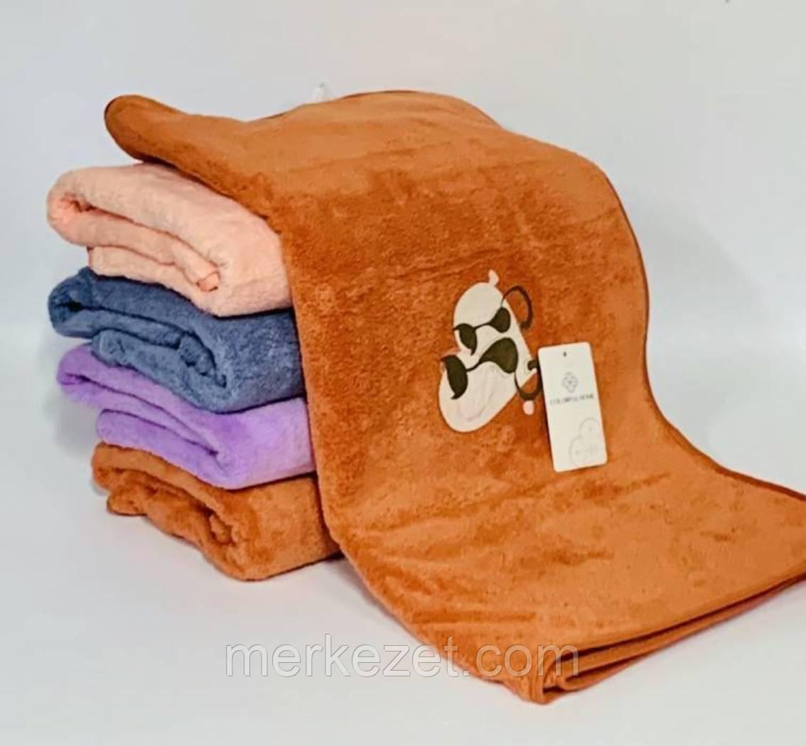 """Банные полотенца из микрофибры. """"Тотем"""""""