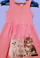 Красивое платье для девочки, H&M , на 4-6 лет