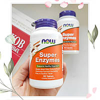 Super Enzymes, Энзимы для пищеварения 90 таблеток,цена,отзывы,