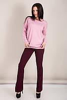 Женский свитер с вырезом на воротнике Турция, фото 5