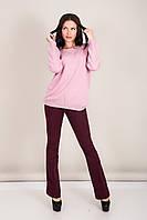 Женский свитер с вырезом на воротнике Турция, фото 3