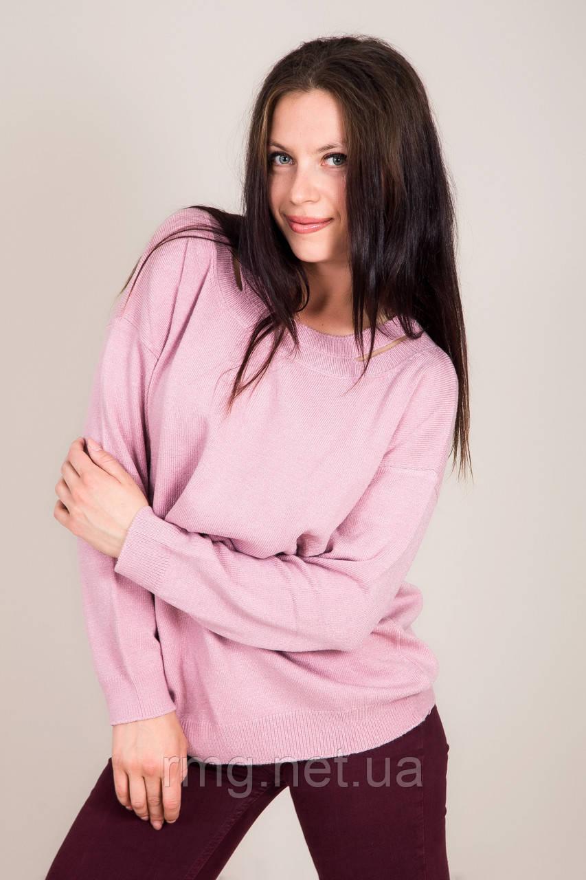 Жіночий светр з вирізом на комірі Туреччина