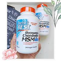 Глюкозамин Хондроитин MSM Doctor's Best Glucosamine Chondroitin MSM 240 шт, официальный сайт