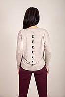 Женский свитер с боковыми карманами Турция, фото 2