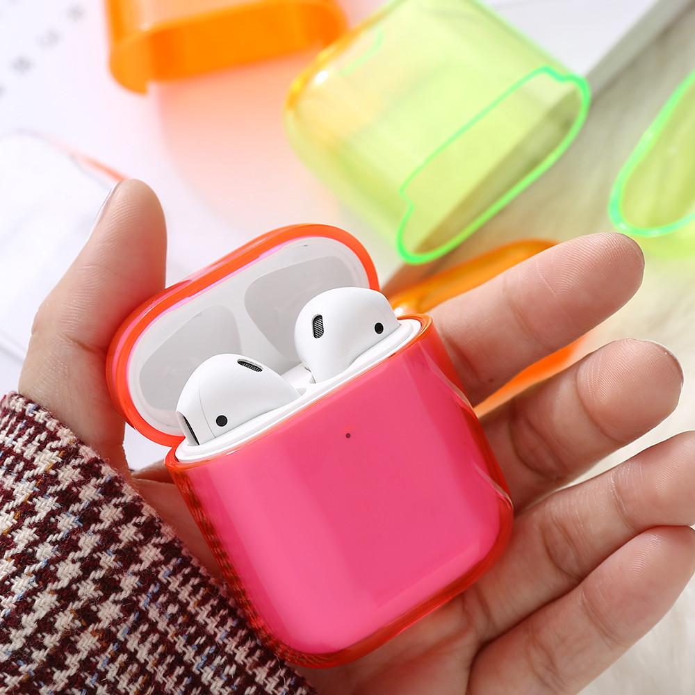 Чехол - Airpods Apple. Розовый. Глянец