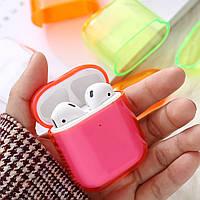 Чехол - Airpods Apple. Розовый. Глянец, фото 1