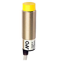 Індуктивний датчик M18, неекранований, кабель 2м, осьової, PK3/00-2A Циліндричний M.D. Micro Detectors
