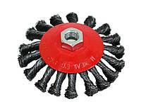 Щітка-крацовка кругова закручена 100 мм SPITCE 18-210   круговая закрученная