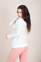 Стильный женский свитер с узорами Турция, фото 2