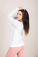 Стильный женский свитер с узорами Турция, фото 5