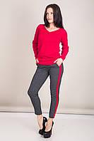 Женский свитер с V-образным вырезом Турция, фото 6
