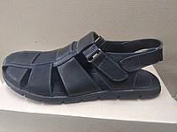 Мужские  кожаные сандали большого размера 46, 47, 48, 49, 50
