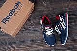 Мужские модные кроссовки Reebok, (кожа +сетка) размеры 40, 41, 42, 43, 44, 45, фото 4
