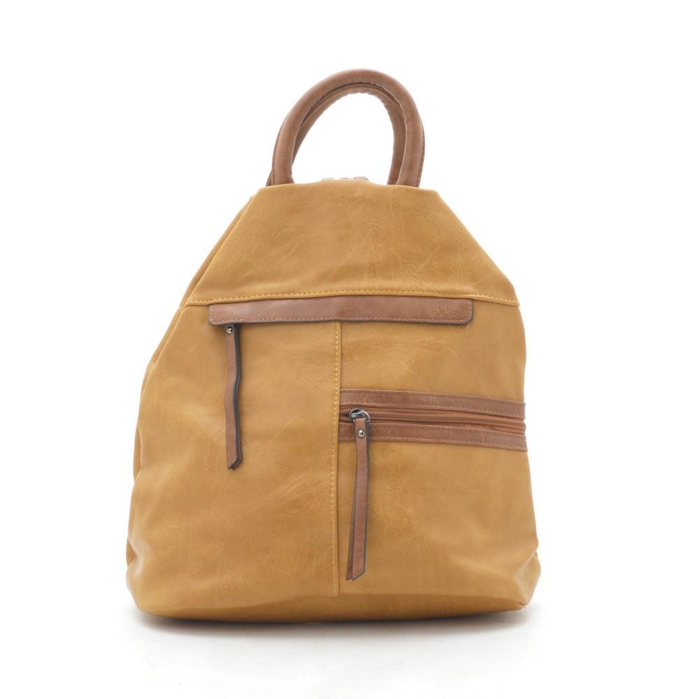 Рюкзак E-7179 желтый