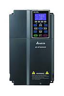 Преобразователь частоты Delta Electronics, 7,5 кВт, 400В,3ф.,векторный, c ПЛК, VFD075CP43A-21