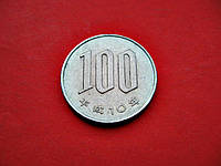 Японские Сто 100 йен 1998 г. Эпоха Акихито (Хэйсэй) (1989 - 2018)