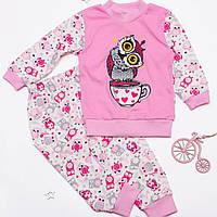 Пижама домашний комплект для девочки интерлок