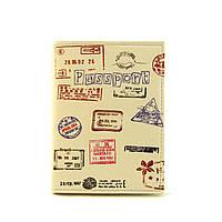 """Обкладинка на паспорт """"Колекція штампів"""""""