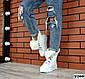 Зимние белые ботинки натуральная кожа на платформе Зима, фото 6