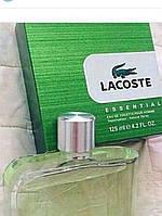 Мужская туалетная вода Lacoste Essential (125 мл ) Зелёная упаковка