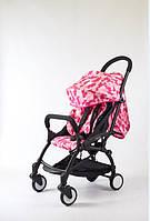 Коляска Yoya 175a+ розовый камуфляж рама черная