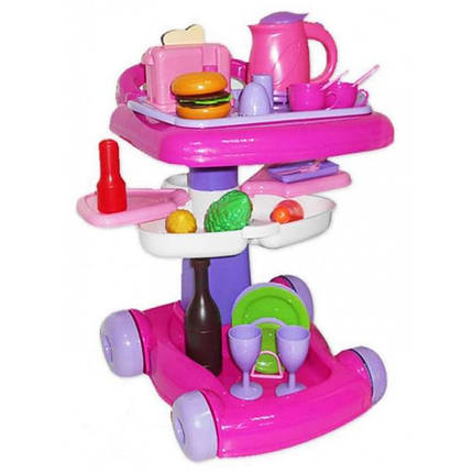 Детский столик на колесиках W098, фото 2