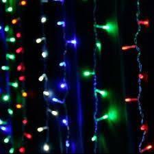 Гирлянда водопад (штора) 240 LED 5мм 2м*2м,разноцветная