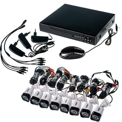 Комплект видеонаблюдения Outdoor Kit 2,0MP 8 камер, фото 2