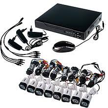 Комплект видеонаблюдения Outdoor Kit 2,0MP 8 камер