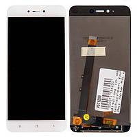 Дисплей Xiaomi Redmi Note 5A, Redmi Y1 Lite, белый, с сенсорным экраном модуль