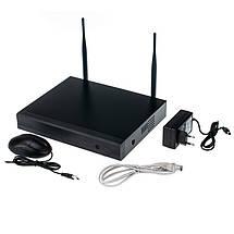 Комплект видеонаблюдения Wi-Fi Outdoor Wireless Kit 1,3MP 8 камер IP, фото 3