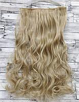 Трессы волнистые блонд волосы на клипсах № 24/613 120г