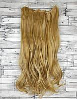 Трессы волосы набор блонд золотой со светлым мелирование №27H613 волосы на заколках