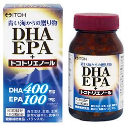 ITOH DHA EPA + токотриенол 90 капсул на 30 днів