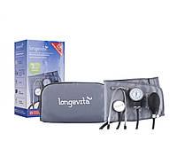 Тонометр механічний Longevita LS-5 (стетоскоп вбудований в манжеті)
