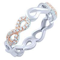 Серебряное кольцо Unicorn с фианитами (1824405) 18 размер