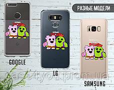 Силиконовый чехол для Samsung J415 Galaxy J4 Plus Brawl Stars (Бравл Старс) (28227-3335), фото 3