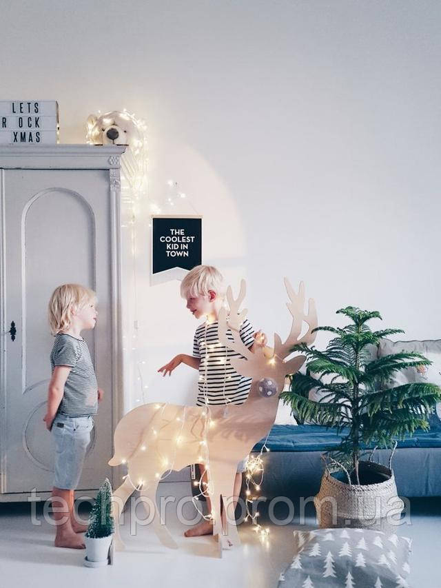 Новогодние декоративные гирлянды купить недорого