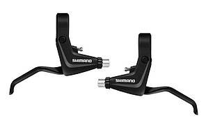 Тормозные ручки для велосипеда, SHIMANO Alivio BL-T4010, черные