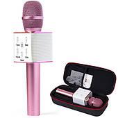 Караоке микрофон MicGeek Q9 PRO Розовый (Гарантия/Подарок/Чехол)