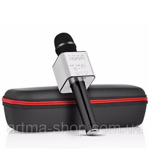 Караоке микрофон MicGeek Q9 PRO Черный (Гарантия/Подарок/Чехол)