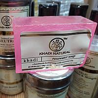 Мило Кхаді Троянда, Khadi Herbal Rose Soap, 125г